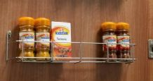 SPICE / JAR RACK - Single Tier in 3 door width sizes (ECF WWSR301/SR401/SR501)